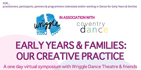 Wriggle Dance Early Years Symposium tickets