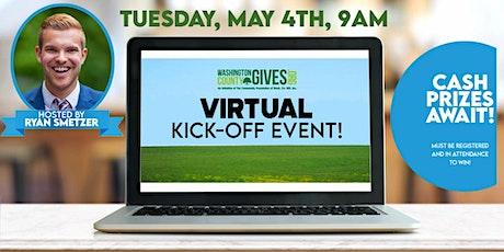Virtual Washington County Gives Kick Off 2021 tickets