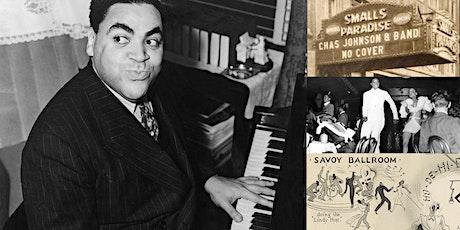 'History of Jazz in NYC' Webinar & 78rpm Listening Party: Harlem tickets