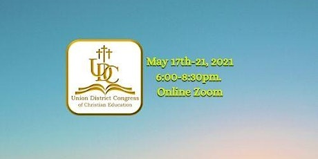 Union District Congress of Christian Education - May CLS tickets
