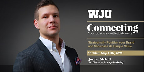 WJU Webinar - Connecting Your Business With Customers tickets