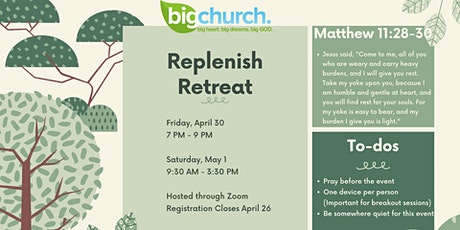 Replenish Retreat tickets