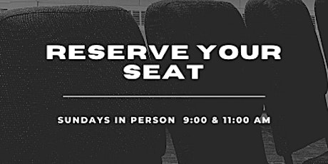 Seats for Sun, April 18, 2021 tickets