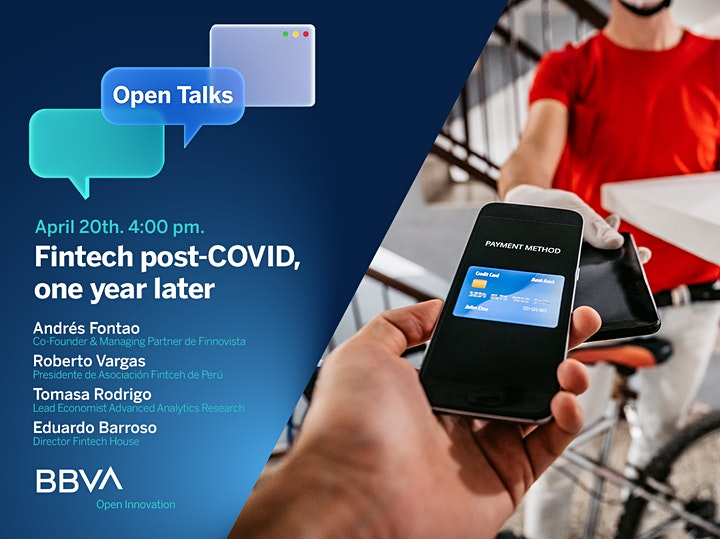 Imagen de BBVA Open Talks Global: Fintech postCOVID, one year after