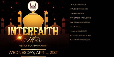 Interfaith Iftar: Mercy for Humanity tickets