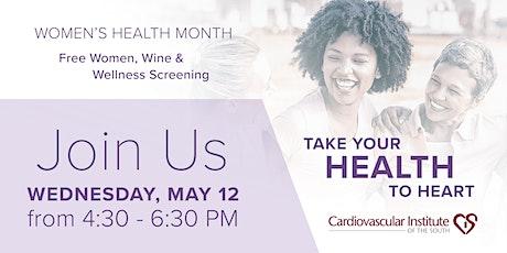 CIS Westbank: Free Wine & Wellness Screening tickets
