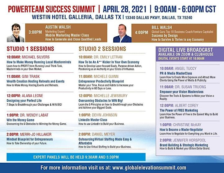 Powerteam  Success Summit Dallas image