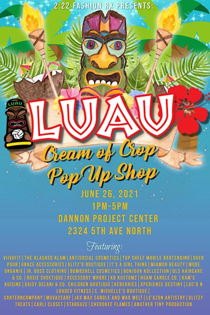 Annual Cream of Crop Pop Up Shop image