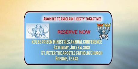 Kolbe Prison Ministries Annual Conference 2021 boletos