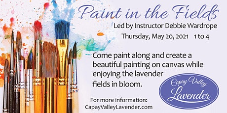 PAINTING IN THE FIELDS tickets