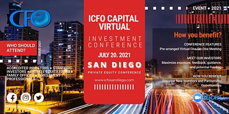 Live Web Event: The iCFO Virtual Investor Conference - San Diego tickets