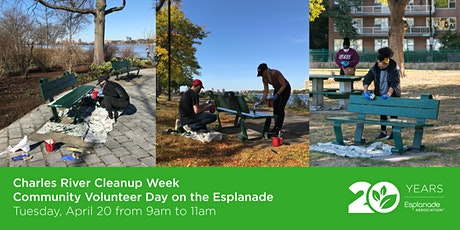 Charles River Cleanup Week Community Volunteer Day tickets