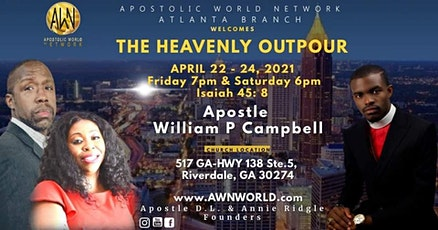 2-Day Prophecy Outpour Conference Atlanta tickets