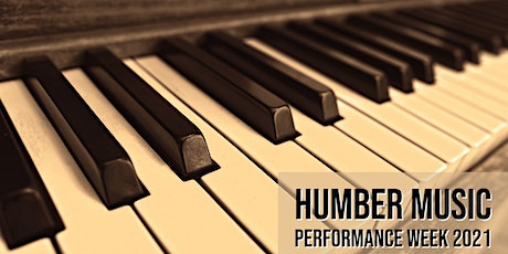 Humber Music Performance Week 2021 tickets
