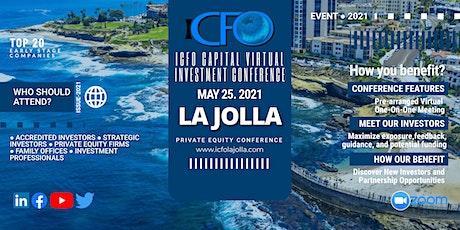 Live Web Event: The iCFO Virtual Investor Conference -  La Jolla, CA tickets