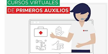 Introducción a los Primeros Auxilios - Online- Cruz Roja Argentina entradas