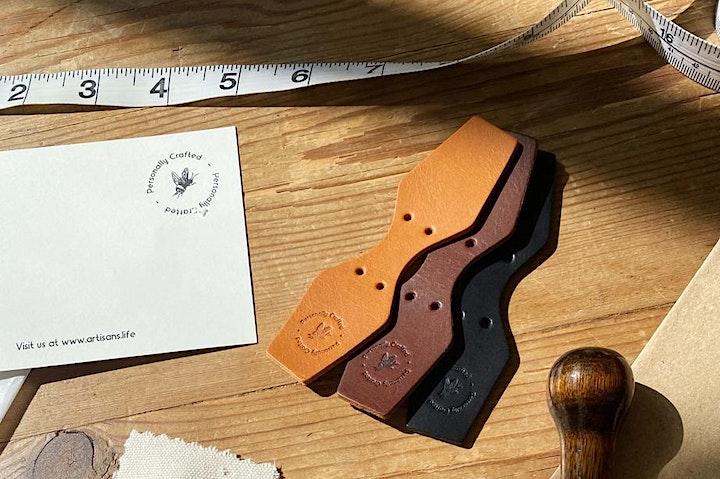 Online Craft Workshop - Make Your Own Leather Keyring image
