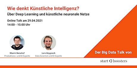 Big Data Talk #3: Wie denkt Künstliche Intelligenz? Tickets