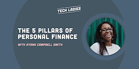 *Webinar* The 5 Pillars of Personal Finance tickets