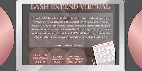 Lash Extend Virtual Academy tickets