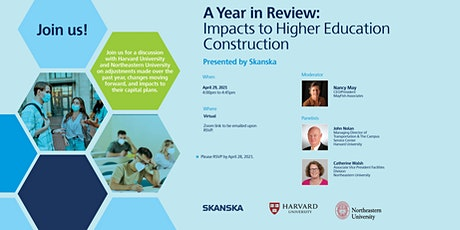 A Year In Review - Impacts to Higher Education Construction tickets