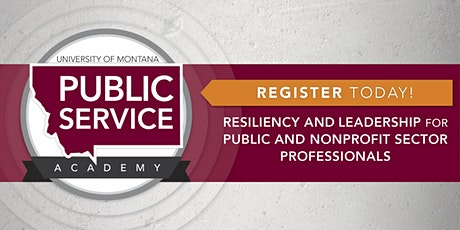 2021 Public Service Academy tickets