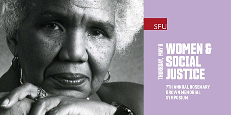 Rosemary Brown Memorial Symposium on Women & Social Justice tickets