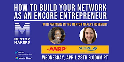 How to build value through mentorship with AARP  & SCORE