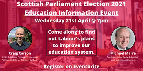 Scottish Labour Education Information Event tickets