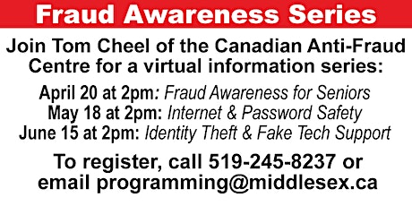 Canadian Anti-Fraud Centre Fraud Awareness Series tickets