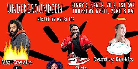 Undergroundzen: Comedy Show tickets