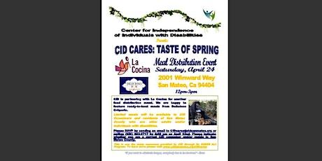 CID CARES: Taste of Spring (Meal Distribution Event) tickets