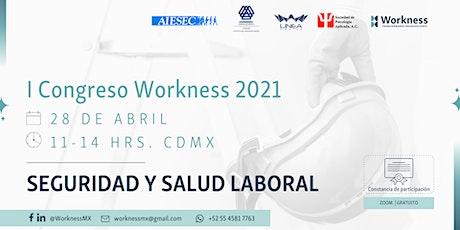 I Congreso Workness en Seguridad y Salud Laboral entradas