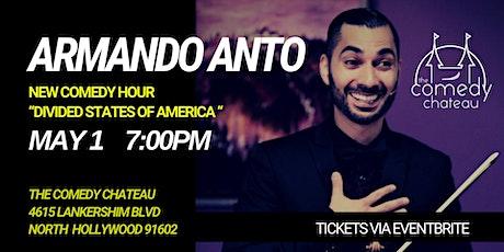 Armando Anto at the Comedy Chateau tickets