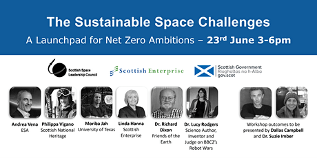Sustainable Space Challenges - A Launchpad for Net Zero Ambitions tickets