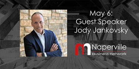 VIRTUAL Naperville Meeting May 6: Guest Speaker Jody Jankovsky tickets