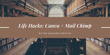 Email Marketing for Authors: Mixing Software (Canva + Mailchimp) tickets