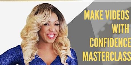 """Good Bye Camera Shy"" Master Class with Talk Show Host Karen Carrington tickets"