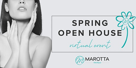 Spring Open House Virtual Event tickets