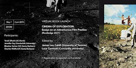 Cinema of Exploration:  Essays on an Adventurous Film Practice. Book Launch tickets