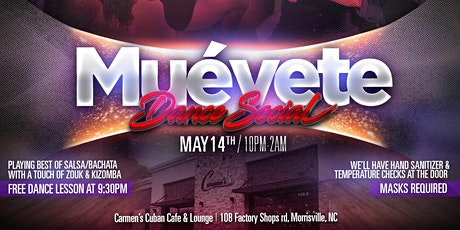 Muevete Dance Social - Hosted by BailaCura tickets