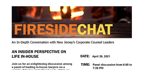Fireside Chat: An In-Depth Conversation with NJ's Corporate Counsel Leaders tickets