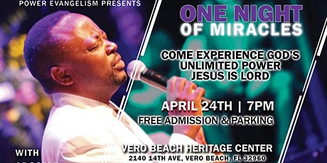One Night of Miracles tickets
