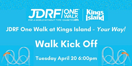 JDRF One Walk Kick Off Tickets