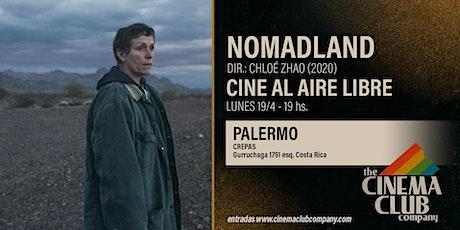 CINE AL AIRE LIBRE - NOMADLAND (2020) - Lunes 19/4 - 19HS entradas