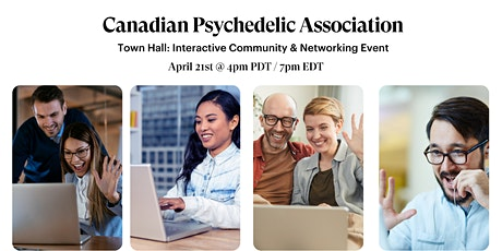 Canadian Psychedelic Association - Community Town Hall. tickets