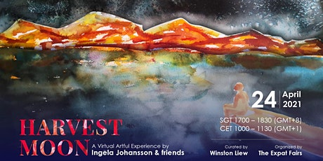 Harvest Moon Virtual Art Night: Swedish Art, Music & Global TEDx Speakers tickets