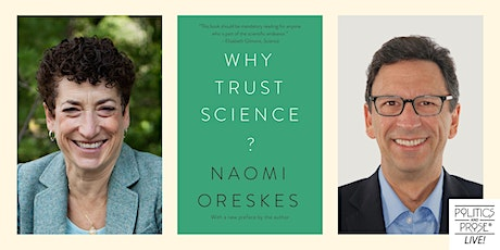 P&P Live! Naomi Oreskes | WHY TRUST SCIENCE? with Frank Sesno tickets