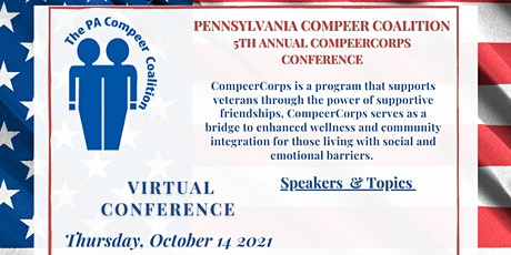 PENNSYLVANIA COMPEER COALITION 5TH ANNUAL COMPEERCORPS CONFERENCE tickets