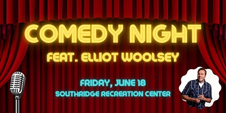Comedy Night featuring Elliot Woolsey tickets